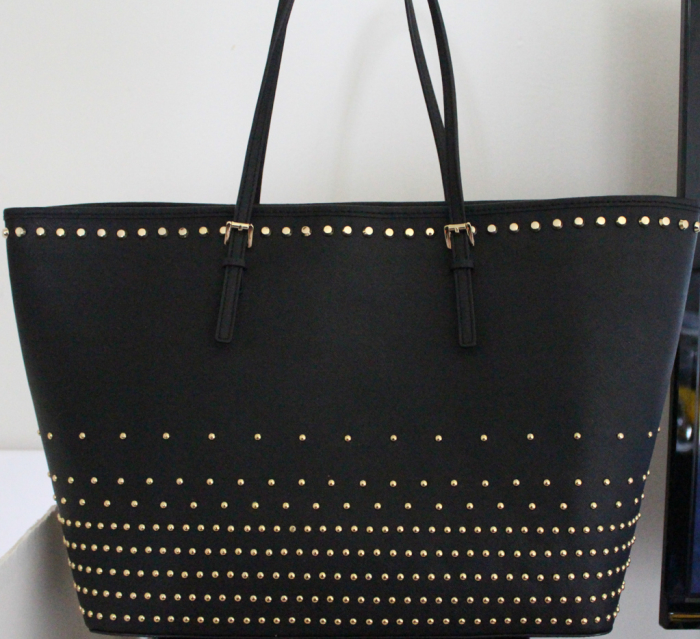 Michael Kors Jet Set Travel Stud Degrade tote-4