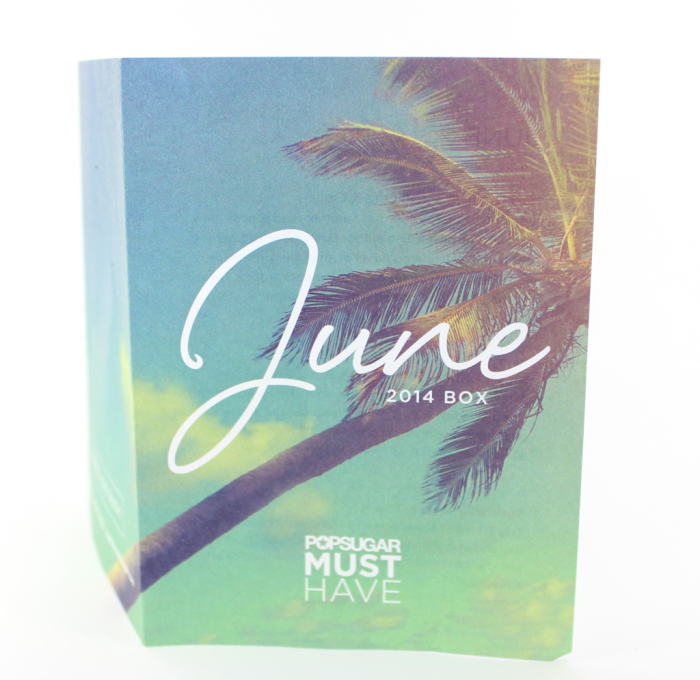 POPSUGAR MUST HAVE june 2014 box
