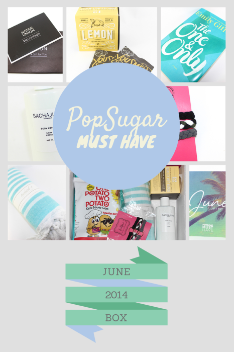PopSUGAR must have box june 2014