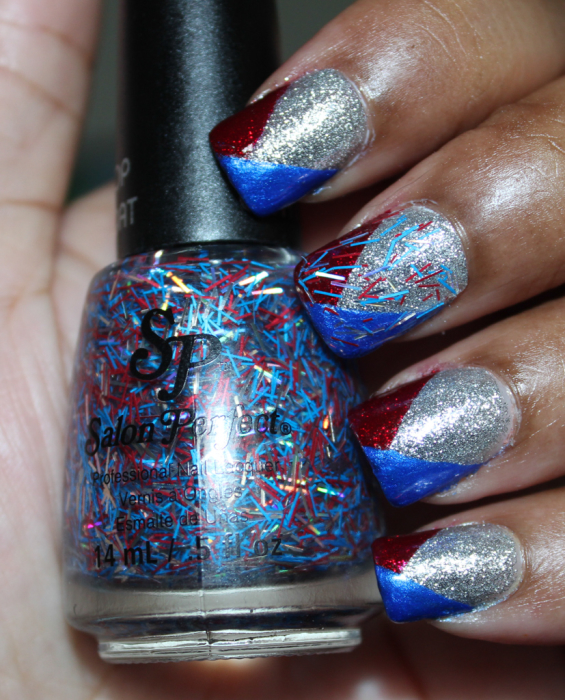 salon perfect 4th of july nails