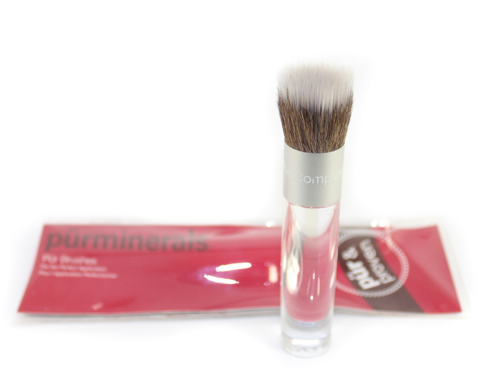 pur minerals foundation brush