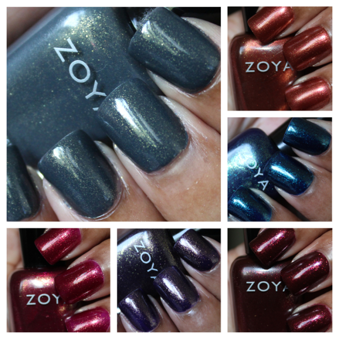 zoya ignite swatches