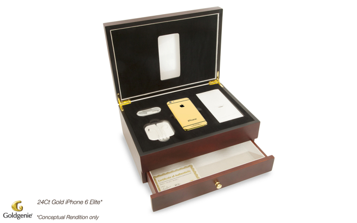 24ct-Gold-iPhone-6-Elite-Cherry-Oak-Box