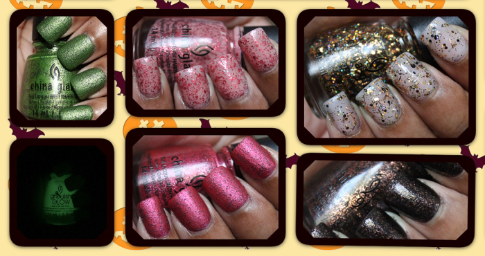 china glaze apocalypse of color collection collage