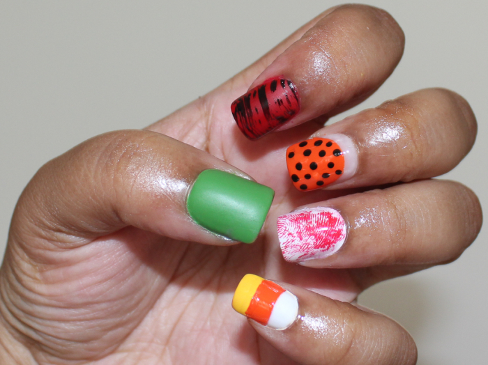 easy halloween nails-2