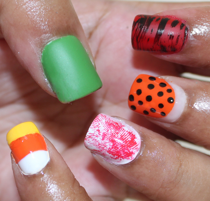 Easy DIY Halloween Nails with Rite Aid | Beauty In The Geek