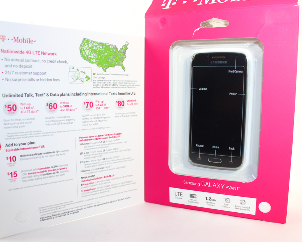 t-mobile simply prepaid galaxy avant-2