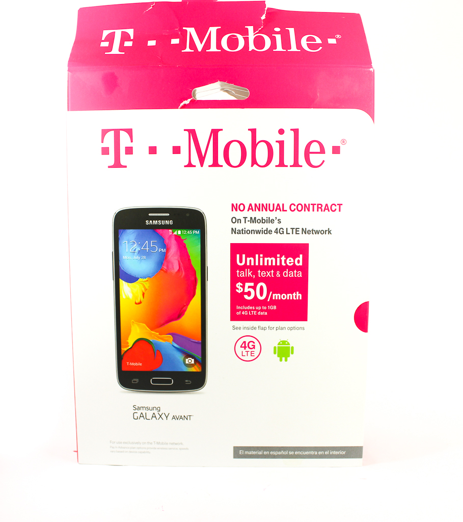 t-mobile simply prepaid galaxy avant