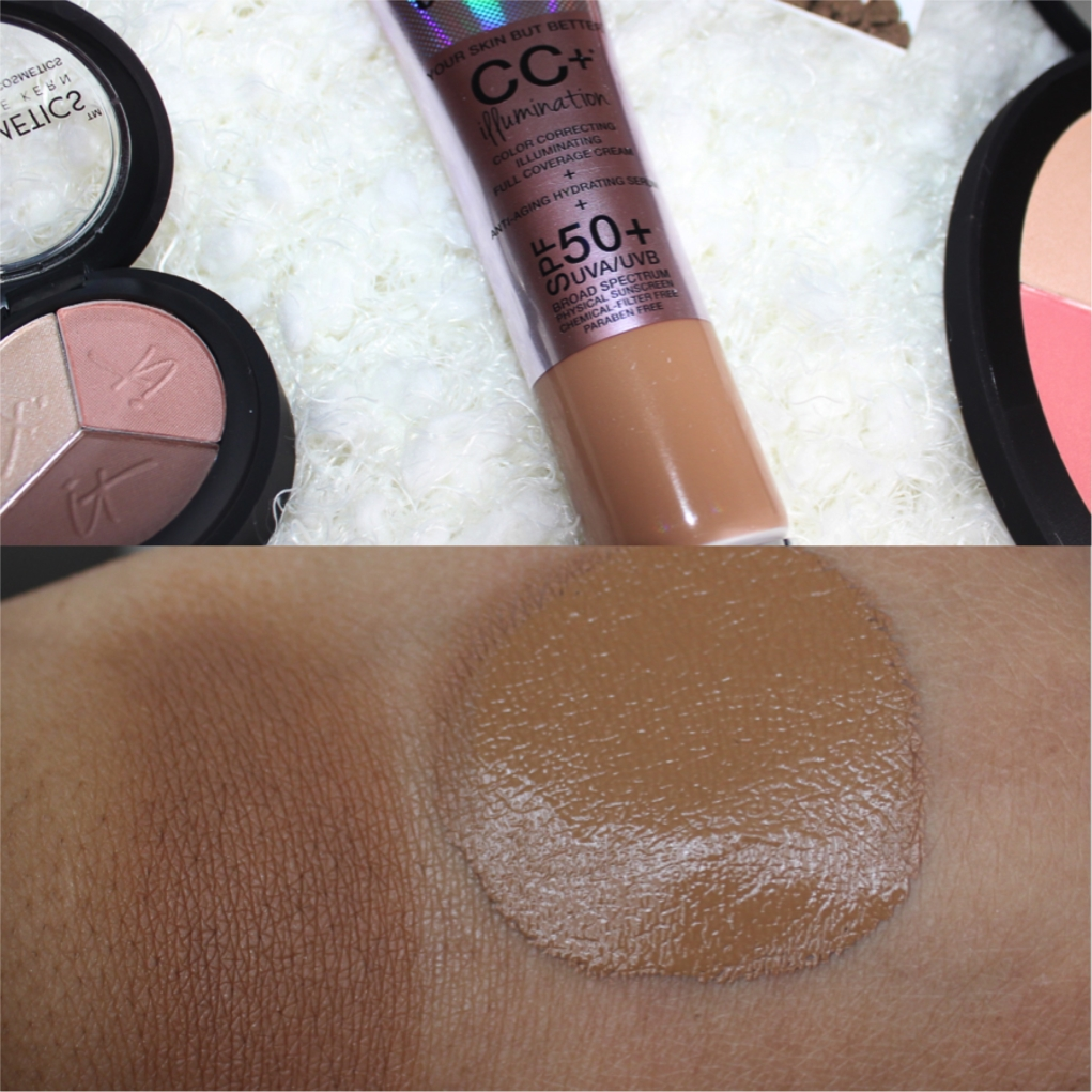 it cosmetics CC+ Cream Illumination in rich swatch
