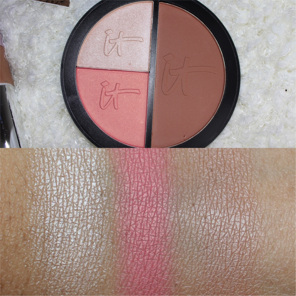 it cosmetics Vitality Face Disc swatch