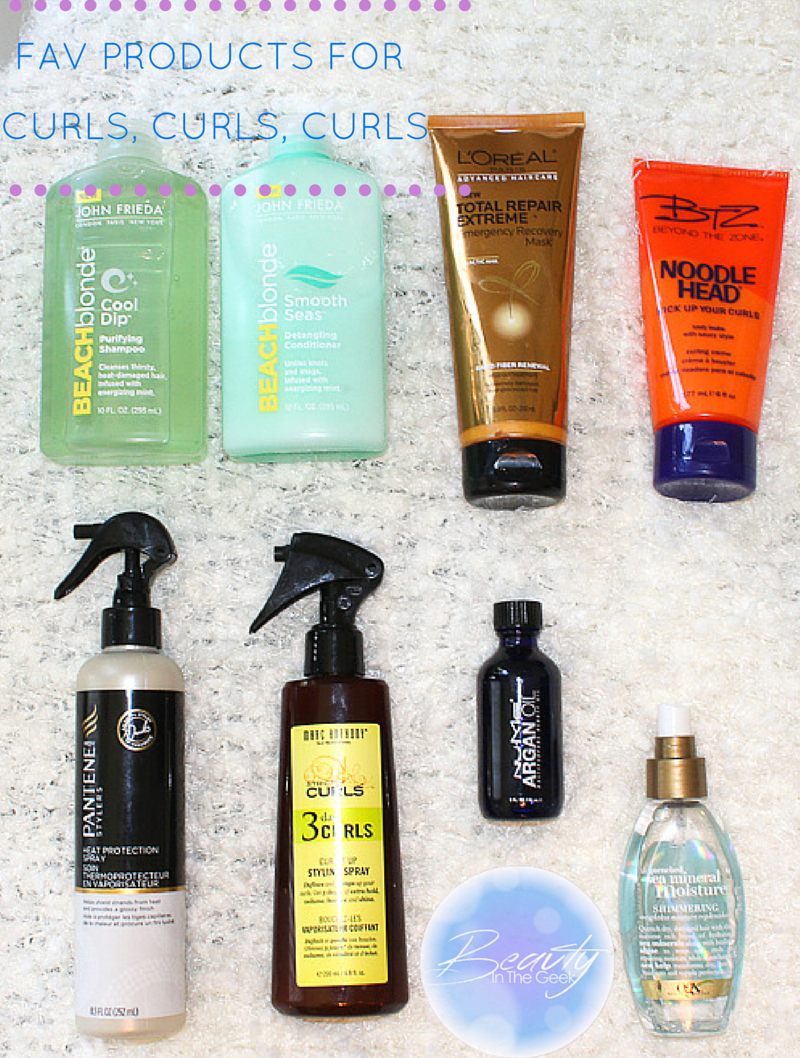 MY FAVorite PRODUCTS for curly hair