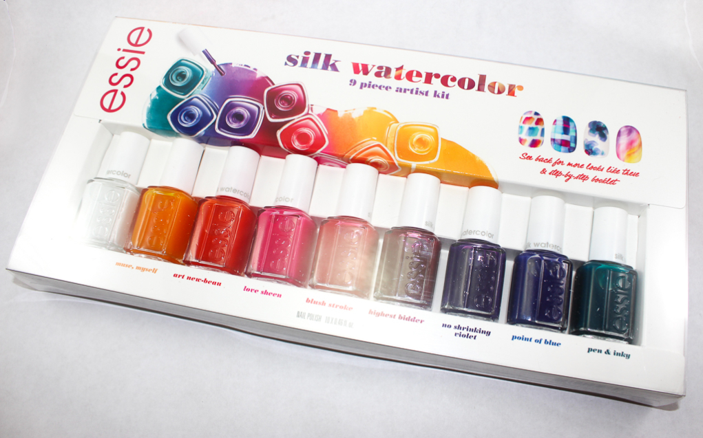Essie Silk Watercolor Swatches | Beauty In The Geek