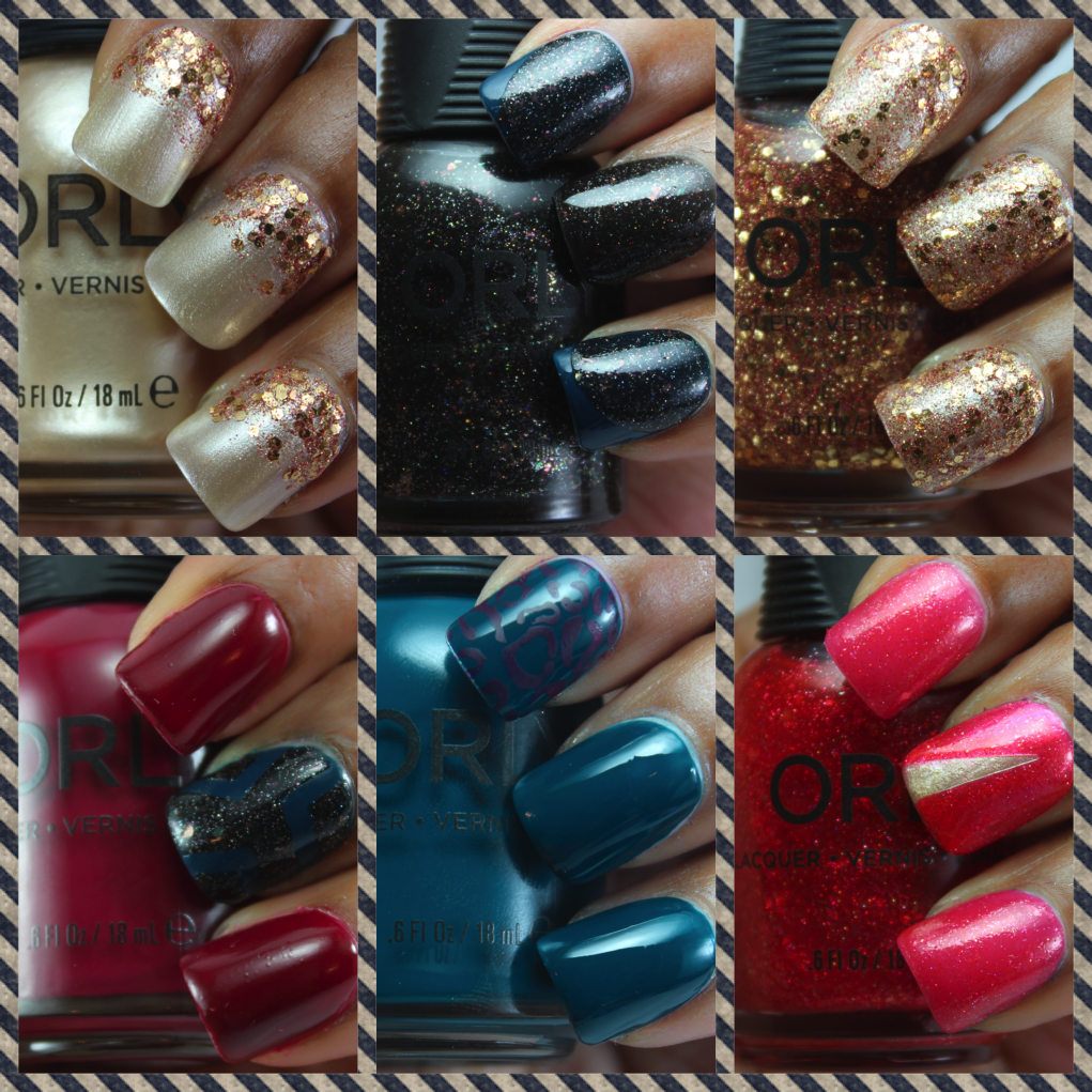 orly INFAMOUS collection swatches