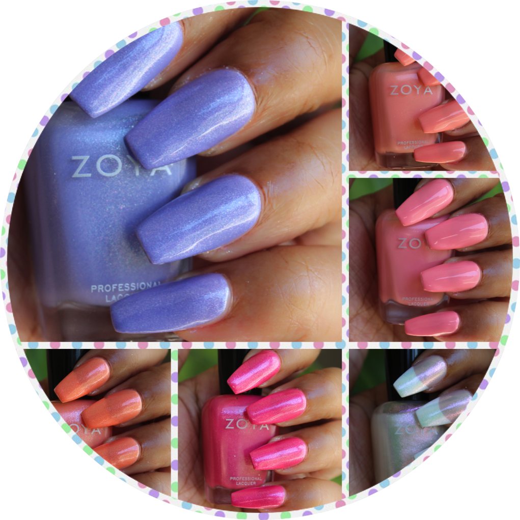 zoya petals collection swatches