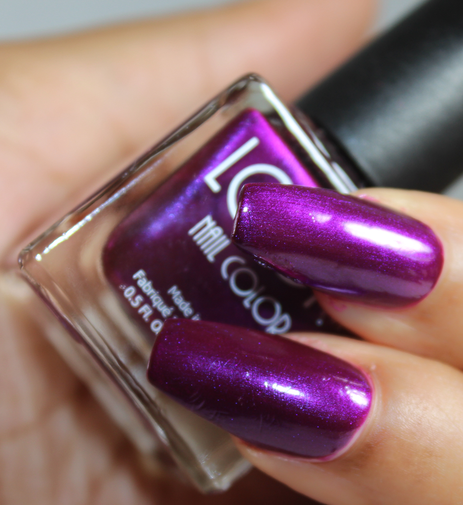 look nail color Amethyst-2