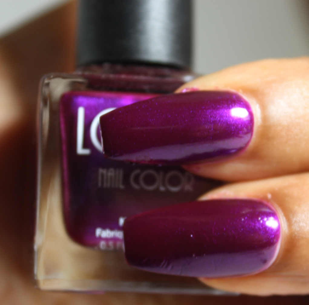 look nail color Amethyst
