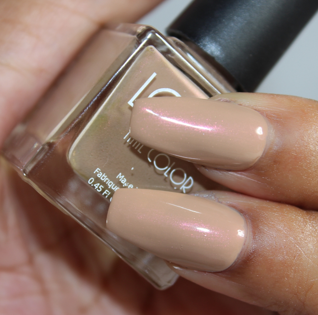 look nail color Cafe Au Lait-2