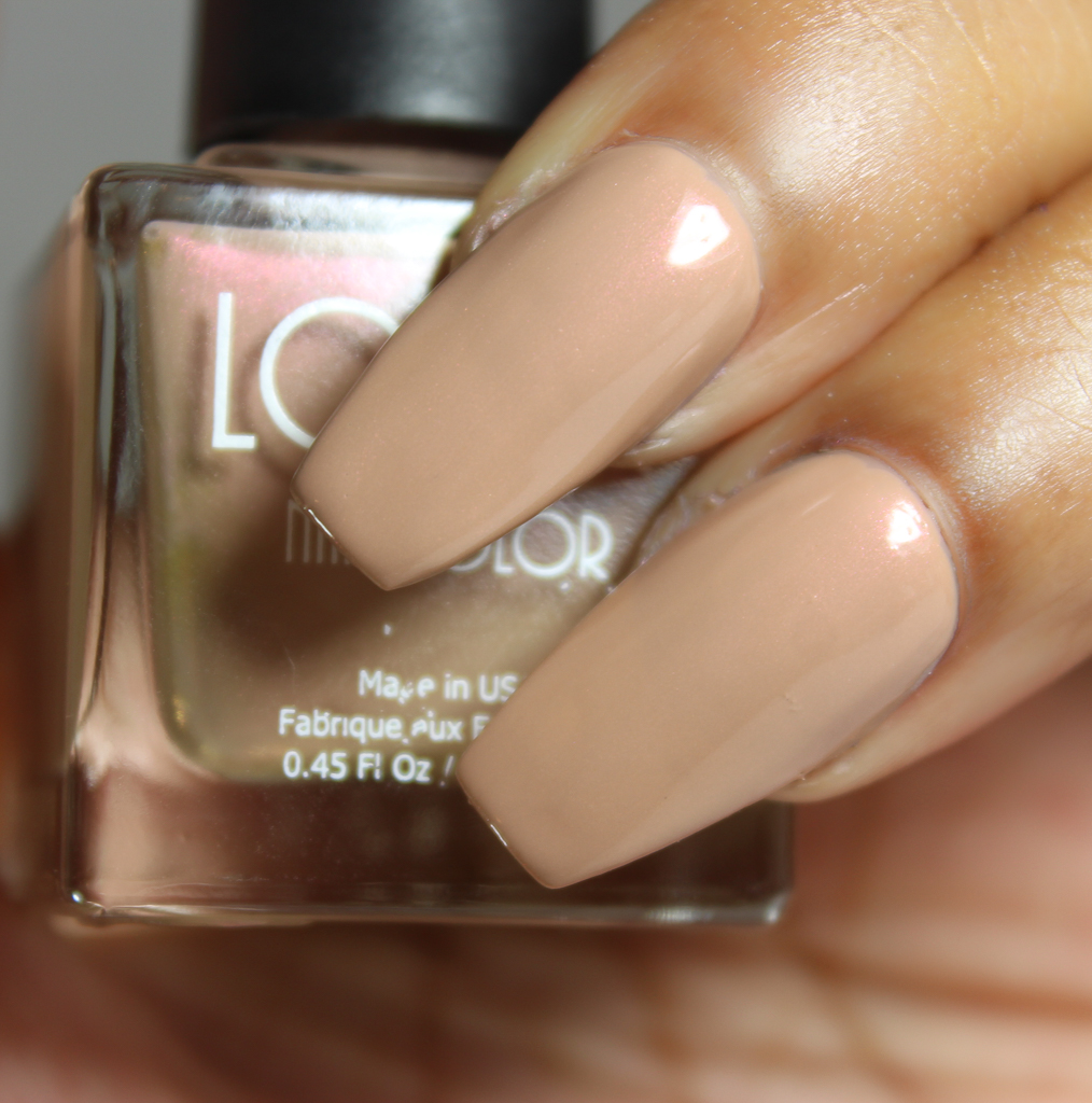 look nail color Cafe Au Lait