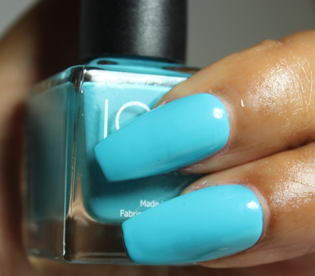 look nail color Turquoise