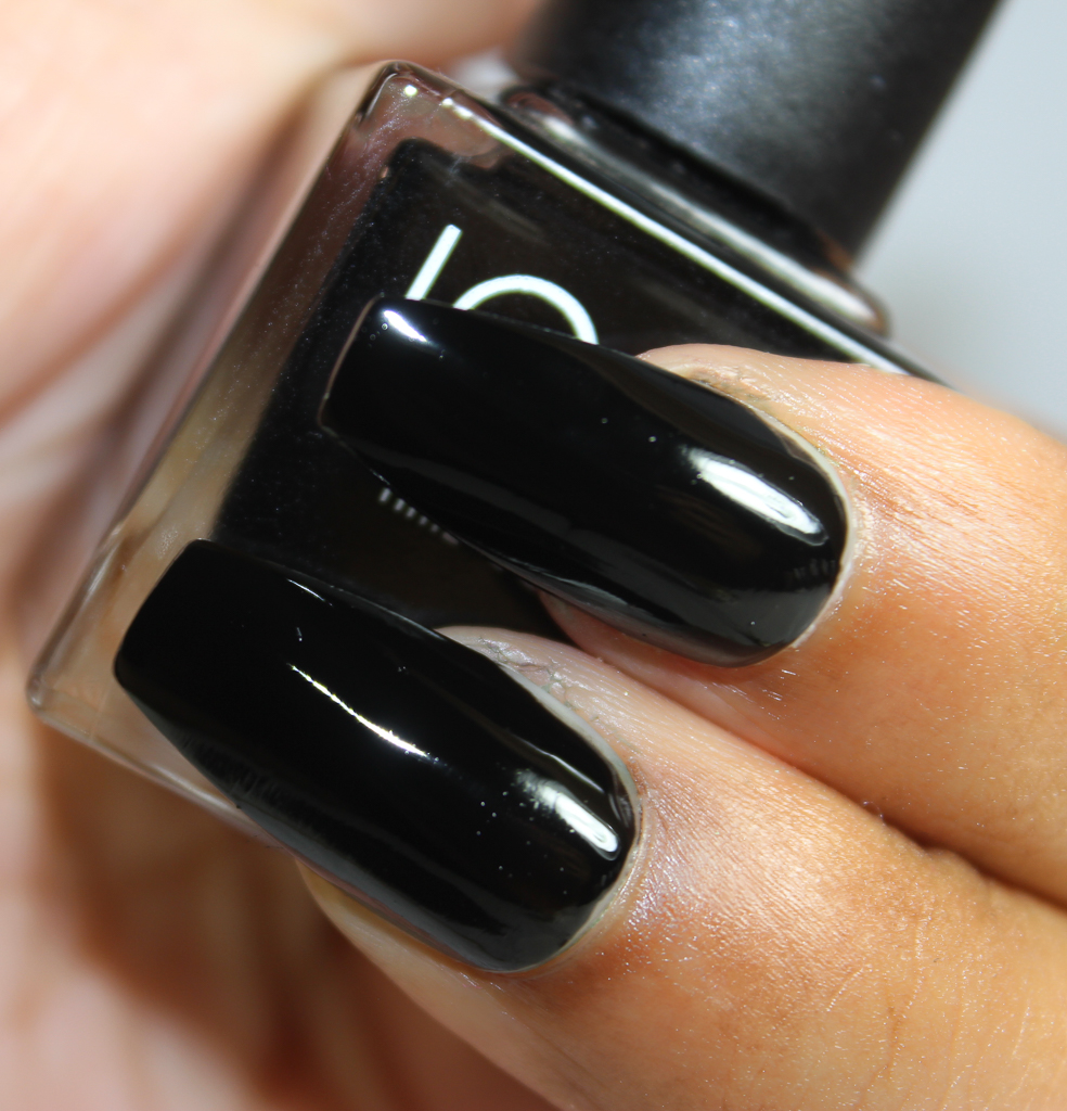 look nail color black-2