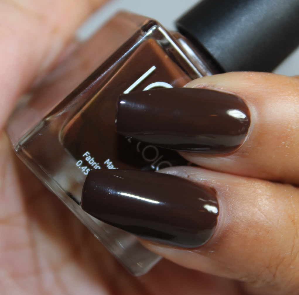 look nail color chocolate-2