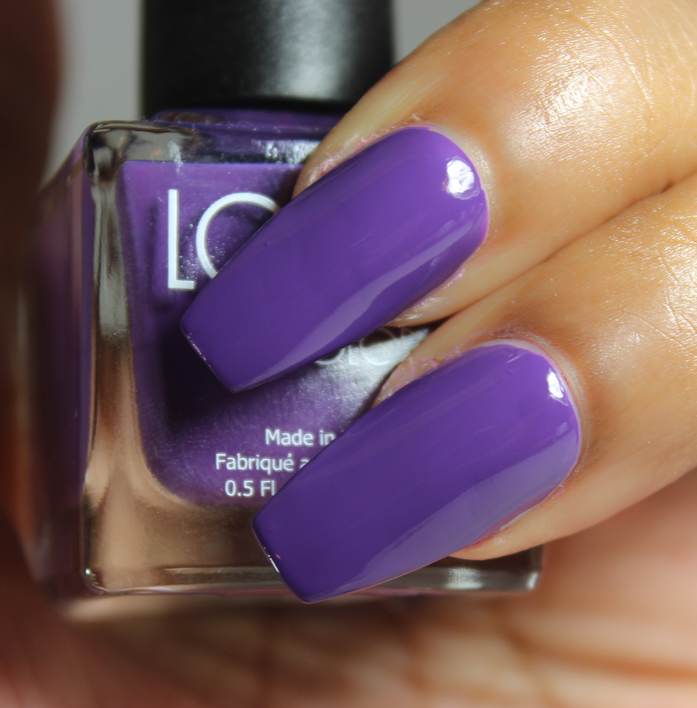look nail color lavender
