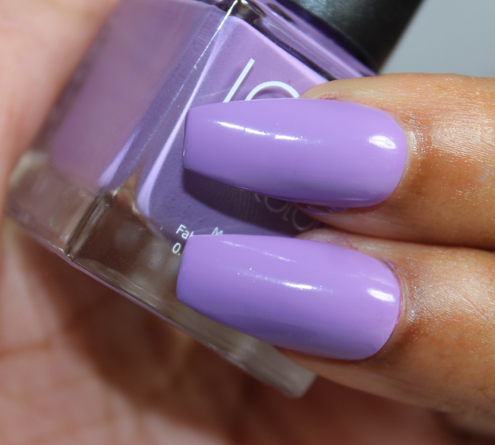 look nail color lilac-2