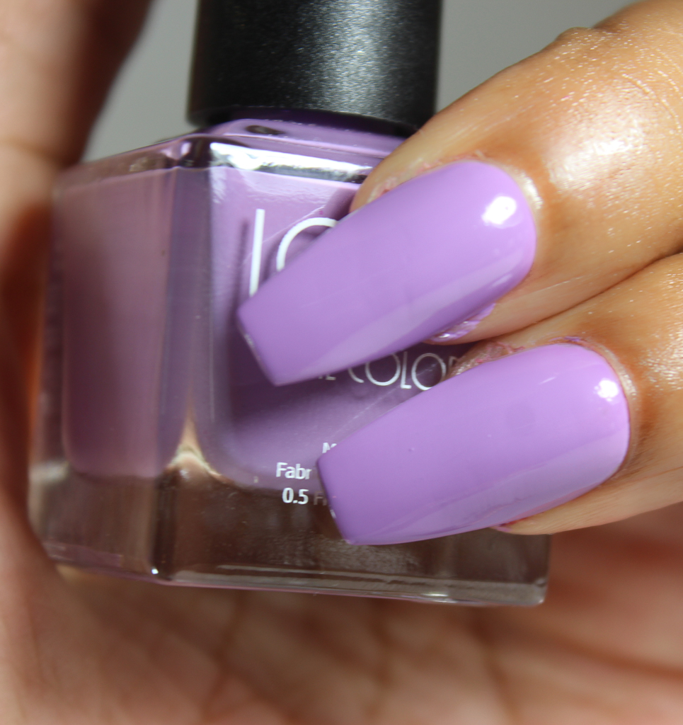 look nail color lilac