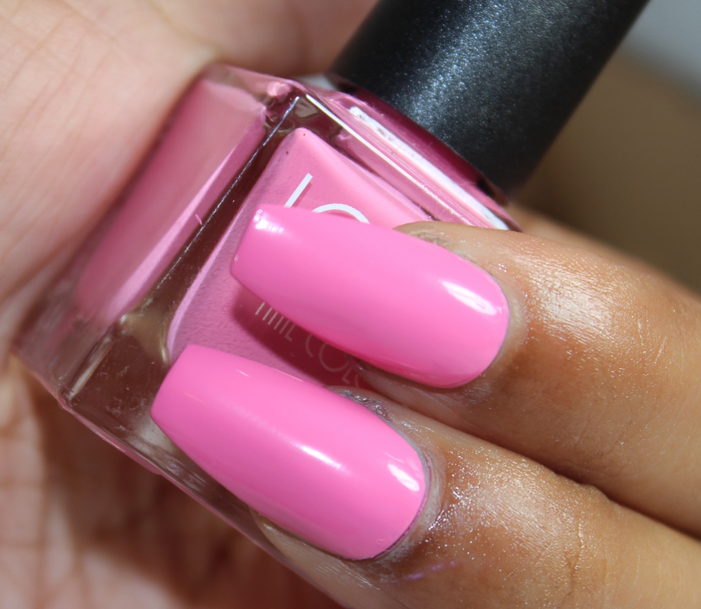 look nail color pink-2
