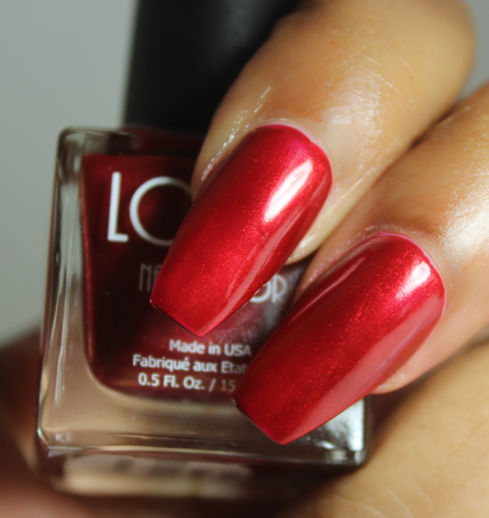 look nail color ruby