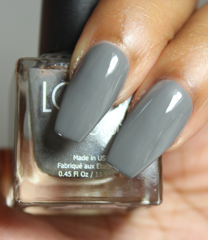 look nail color shadow