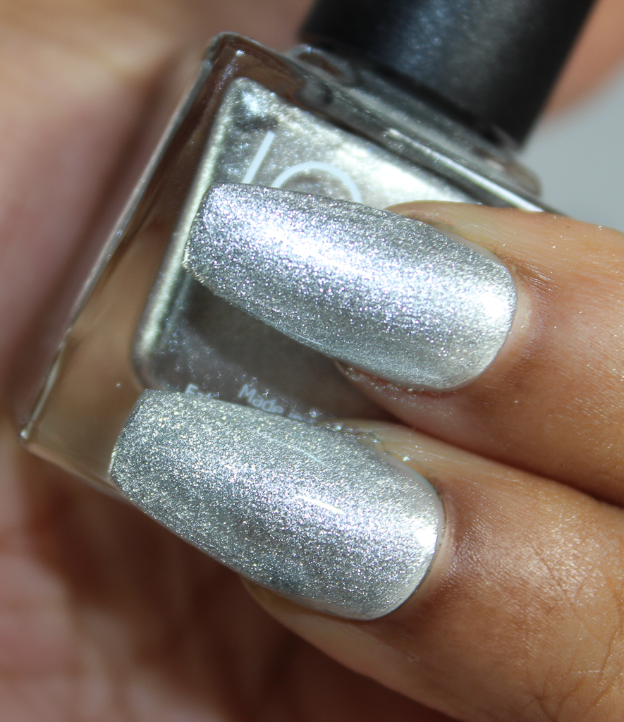 look nail color silver-2
