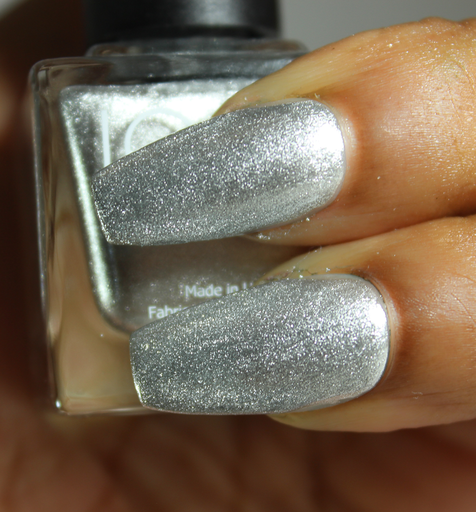 look nail color silver