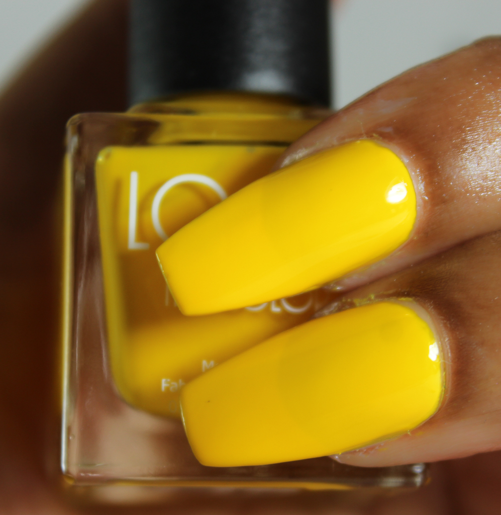 look nail color yellow