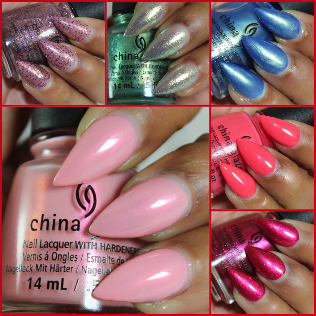 China glaze seas and greetings swatches beauty in the geek i have like 100 or more polishes to swatch so ill be an even busier girl first up is the china glaze seas and greetings collection m4hsunfo